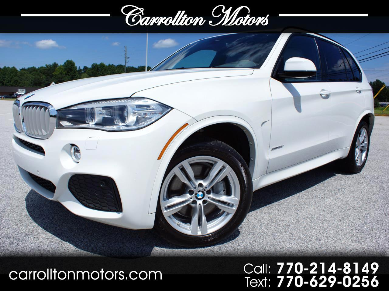 2015 BMW X5 xDrive50i Sports Activity Vehicle