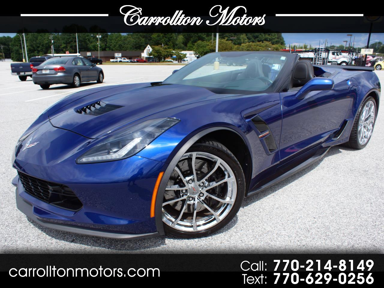 2017 Chevrolet Corvette Grand Sport w/2LT Convertbile