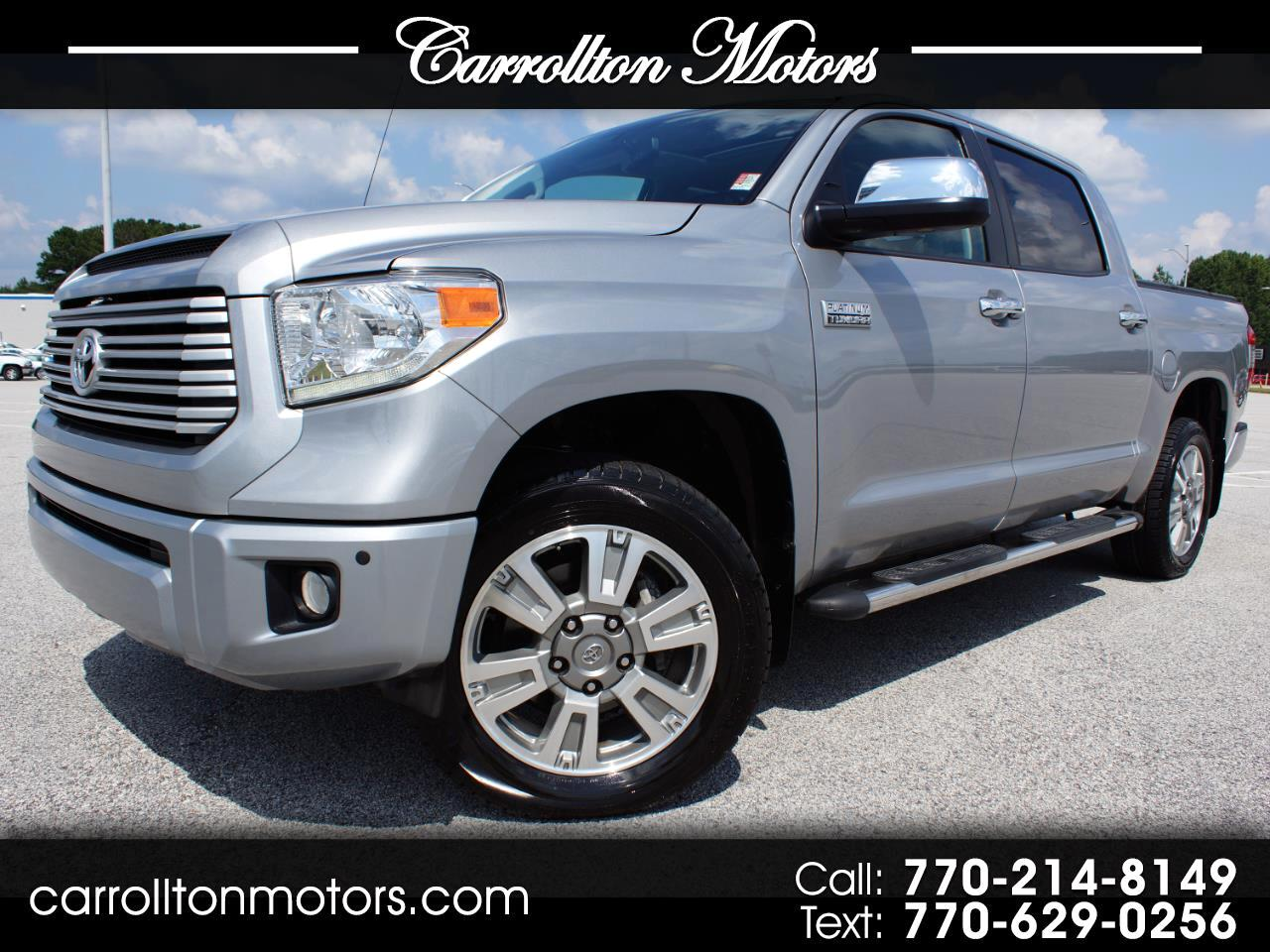 2016 Toyota Tundra For Sale >> Used 2016 Toyota Tundra Limited Platinum 4wd For Sale In
