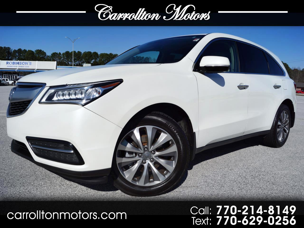 Acura MDX 9-Spd AT SH-AWD w/Tech & AcuraWatch Plus 2016