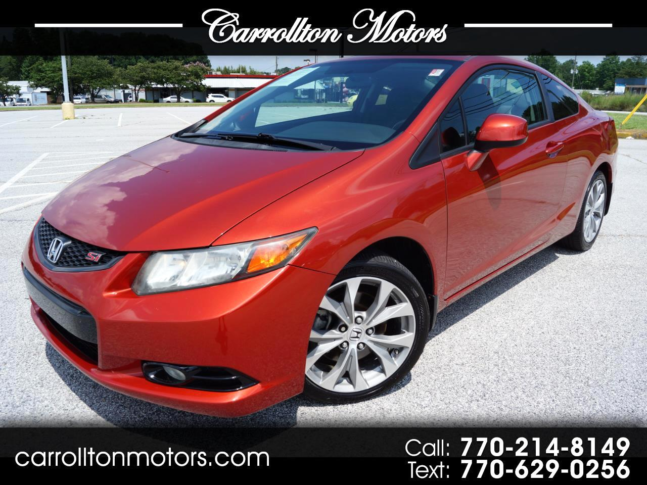 Honda Civic Si Coupe 6-Speed MT 2012