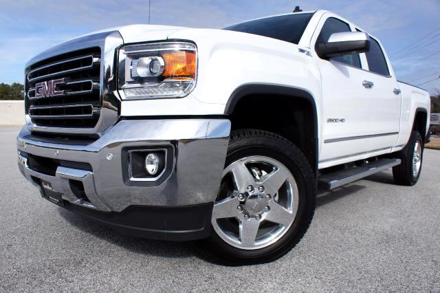 2015 GMC Sierra 2500HD SLT Crew Cab Short Bed 4WD