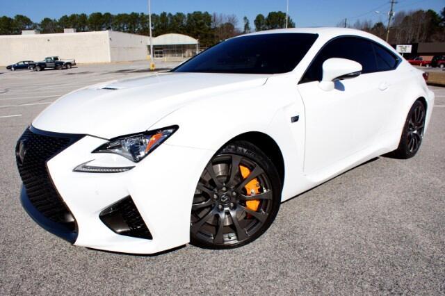 2016 Lexus RC F RWD