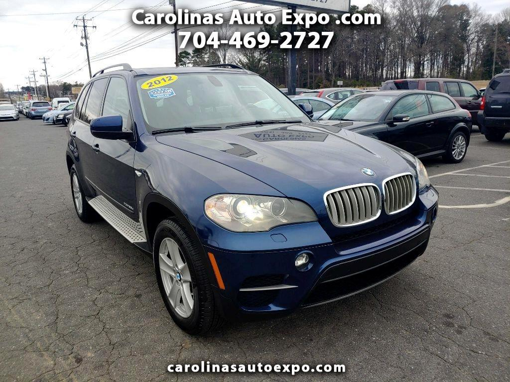 BMW X5 AWD 4dr 35d 2012