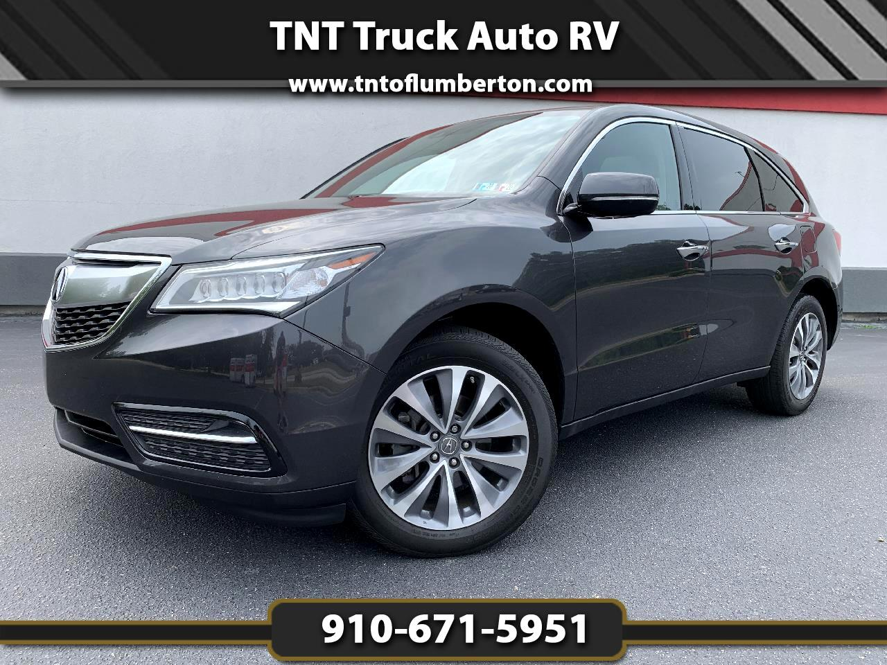 2014 Acura MDX SH-AWD w/ Technology Package