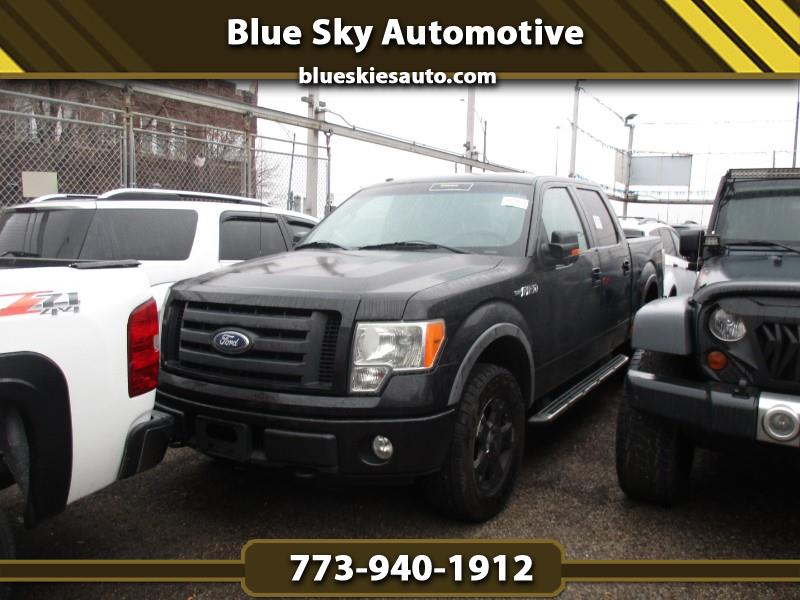 Ford F-150 Lariat SuperCab 5.5-ft 4WD 2010