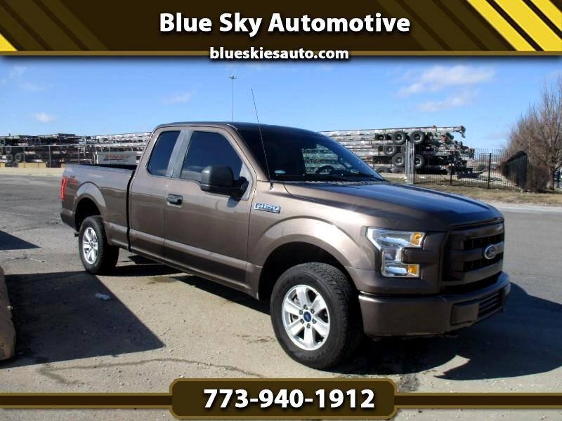 Ford F-150 SuperCab 4WD 2017