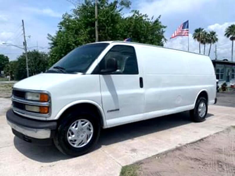 Chevrolet Express 2500 Extended Cargo 2002