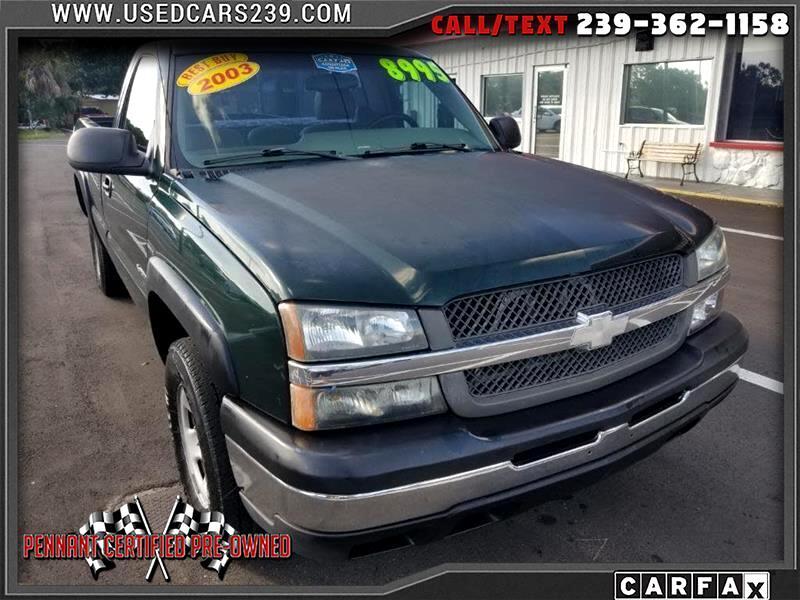 2003 Chevrolet Silverado 2500 2WD