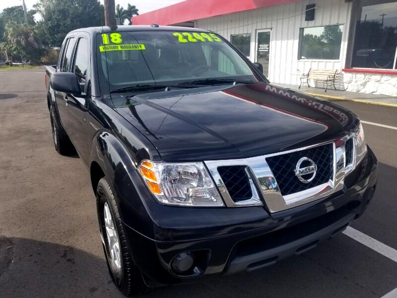 2018 Nissan Frontier SL Crew Cab 5AT 2WD