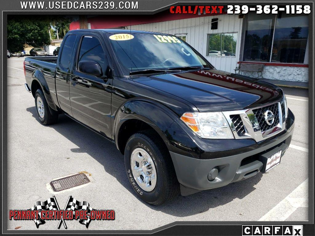 Nissan Frontier 2WD King Cab I4 Manual S 2015