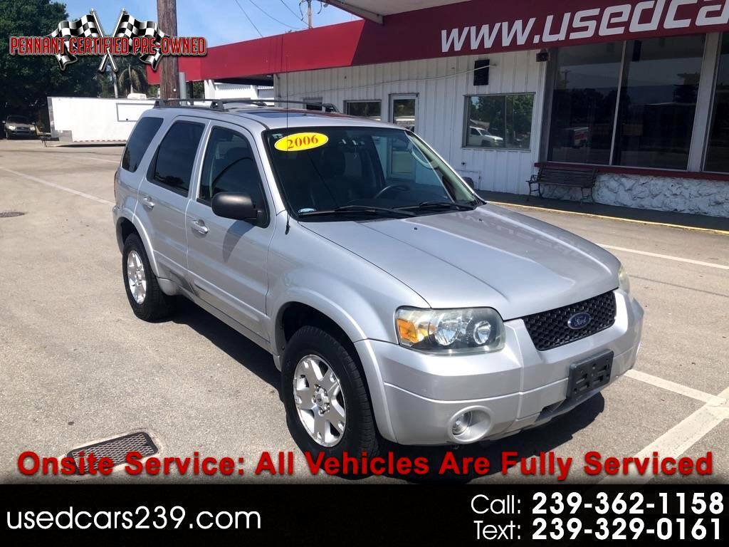 Ford Escape 4dr 3.0L Limited 4WD 2006