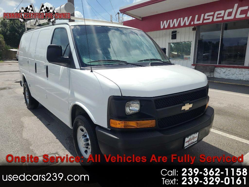 """Chevrolet Express Cargo Van RWD 2500 135"""" 2015"""