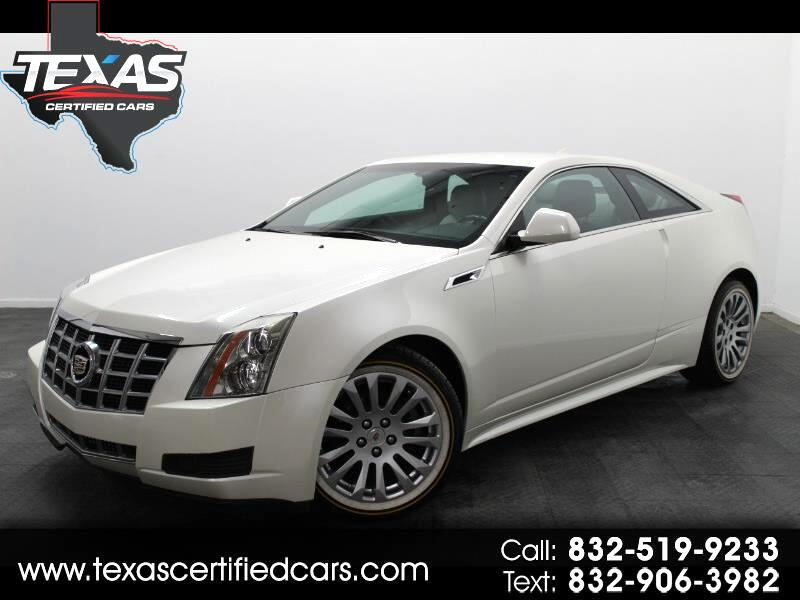2013 Cadillac CTS Coupe 2dr Cpe RWD