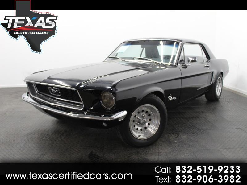1968 Ford Mustang 2-Door Hatchback