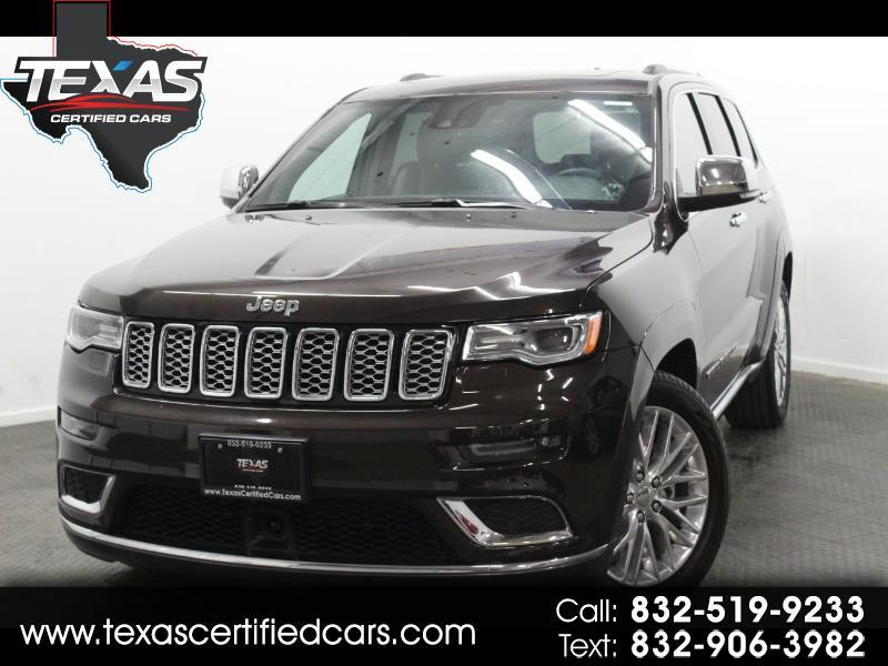 2017 Jeep Grand Cherokee Summit 2WD