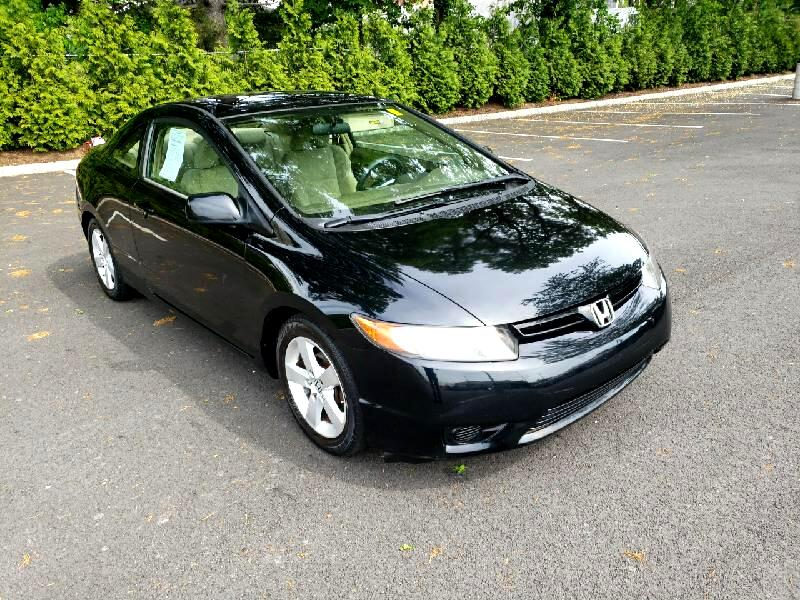 Honda Civic EX Coupe with Navigation 2006