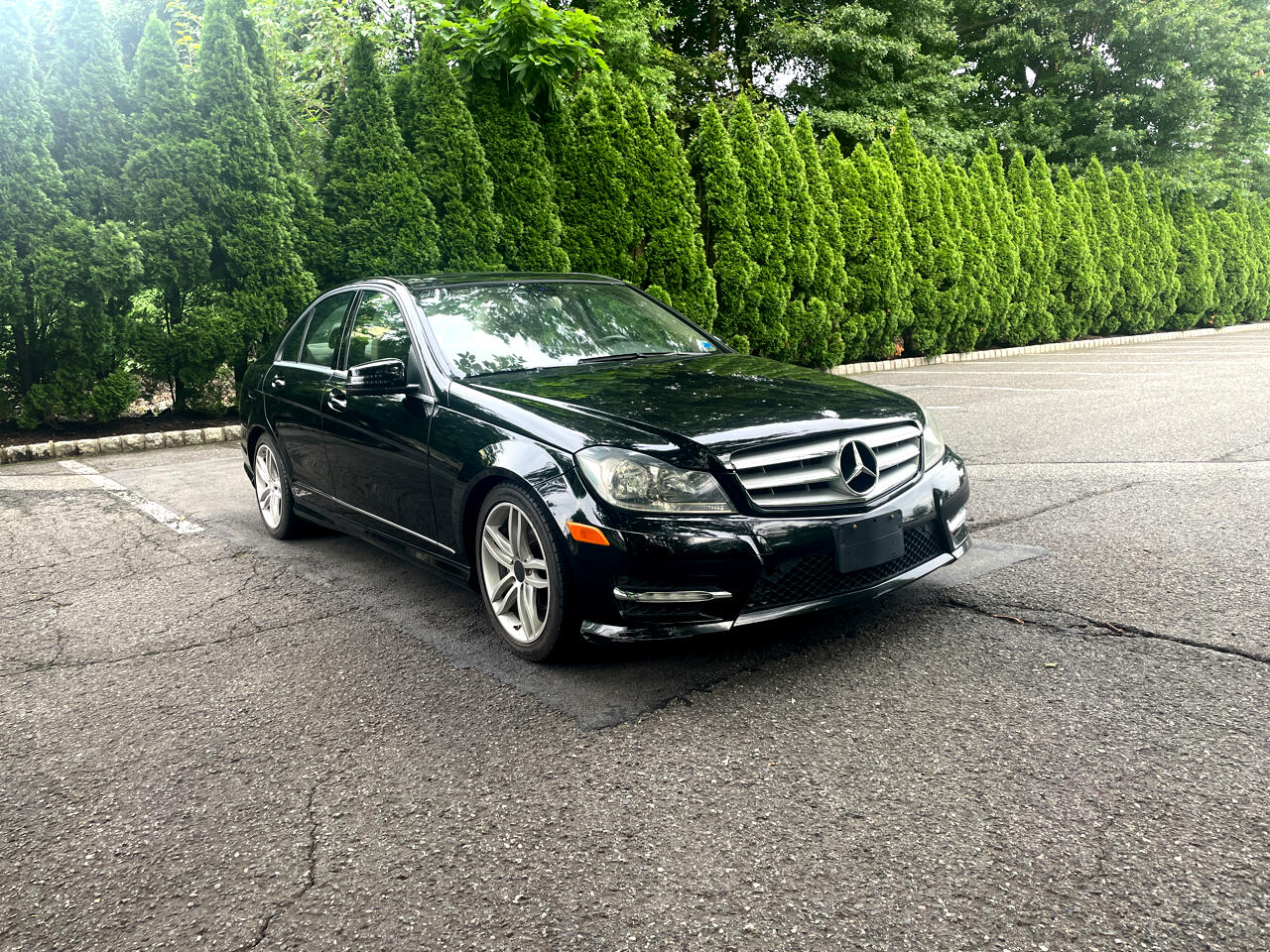 Mercedes-Benz C-Class C300 4MATIC Luxury Sedan 2012