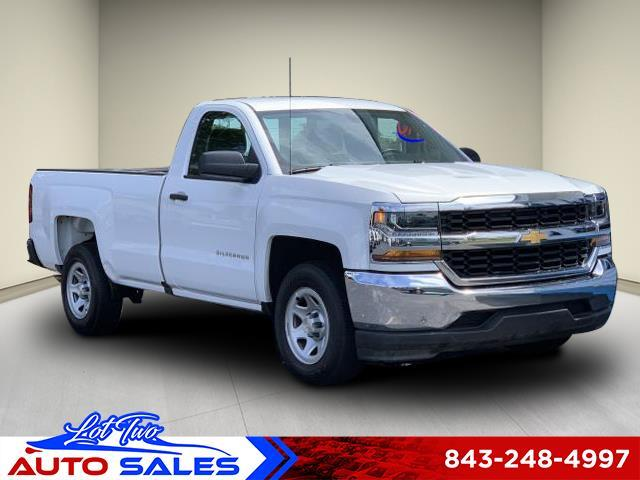 2018 Chevrolet Silverado 1500 Work Truck Long Box 2WD