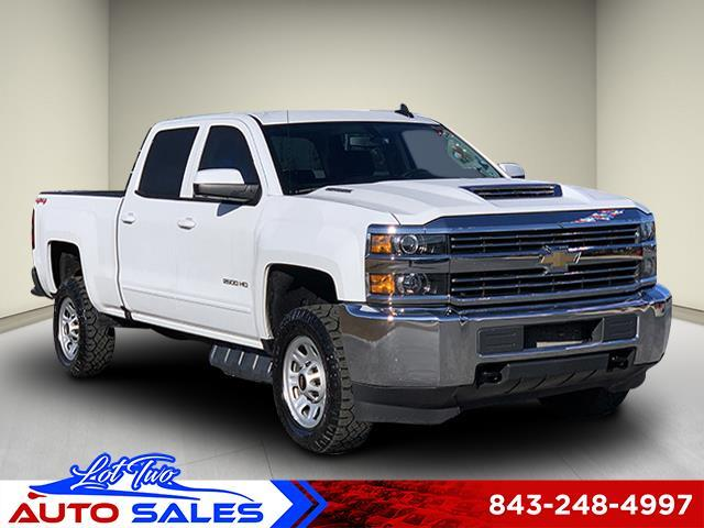 2018 Chevrolet Silverado 2500HD LT Crew Cab Long Box 4WD