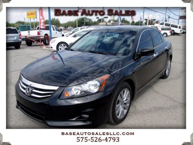 2012 Honda Accord EX V6 sedan AT