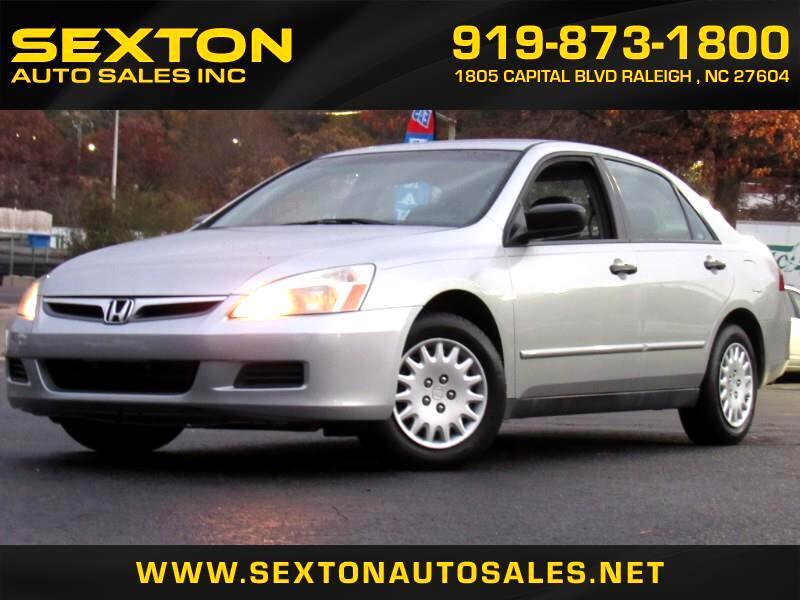 2007 Honda Accord VP Sedan AT