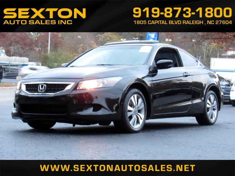 2010 Honda Accord 2dr Coupe Auto EX w/Leather