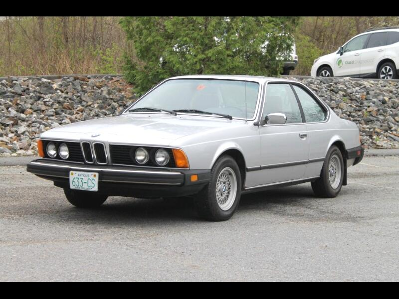 BMW 6-Series 633CSI automatic 1981