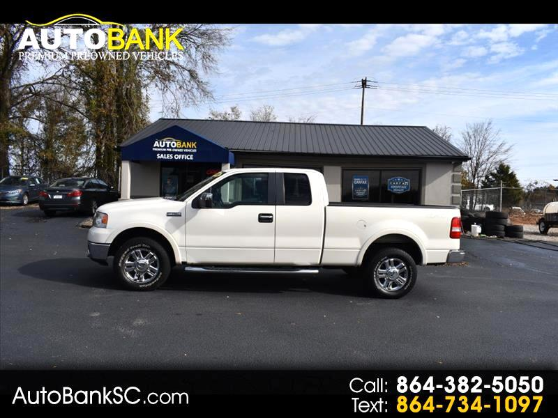 "2008 Ford F-150 4WD SuperCab 145"" Lariat"