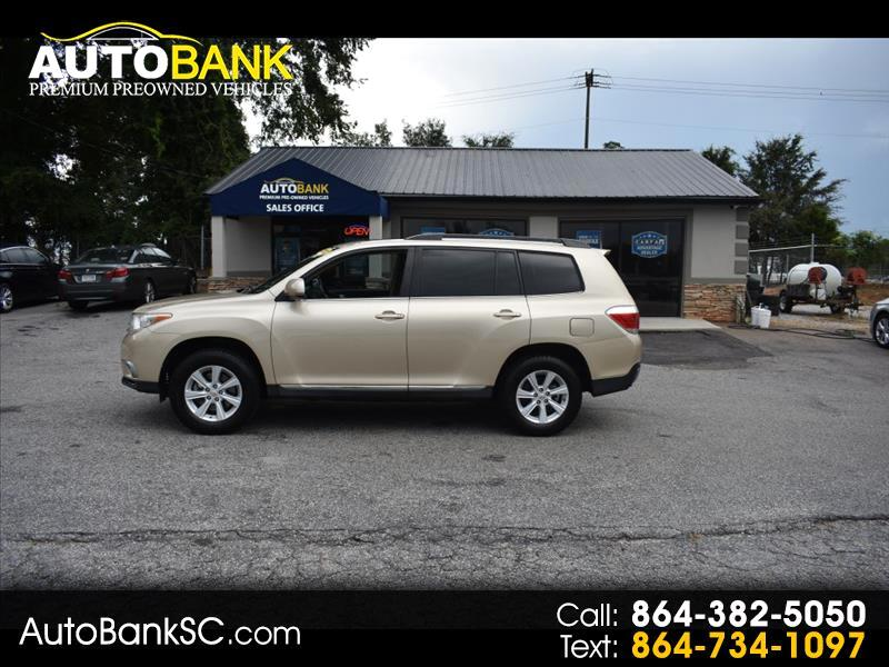 2012 Toyota Highlander 4dr V6 w/3rd Row (Natl)