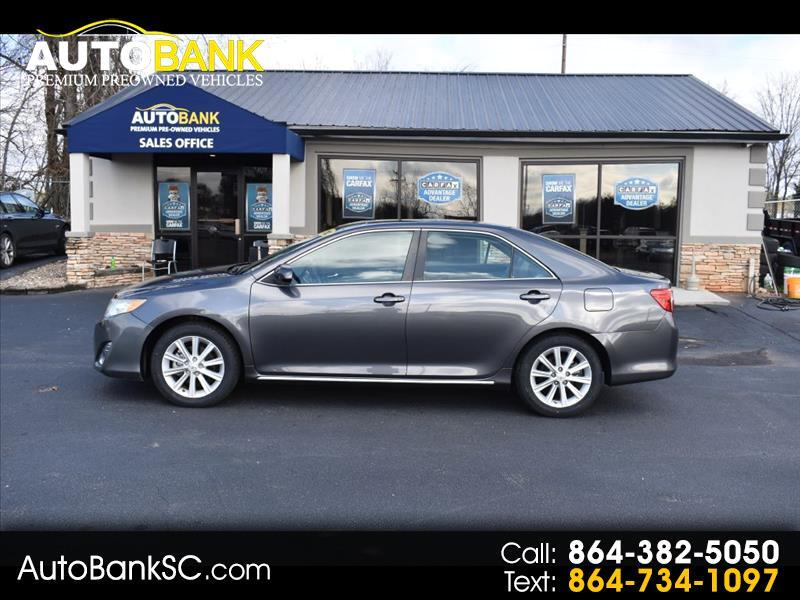 2012 Toyota Camry 4dr Sdn XLE Auto