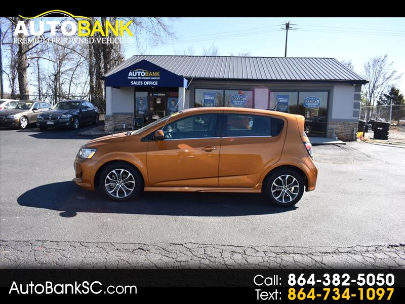 2017 Chevrolet Sonic 2LT 5-Door