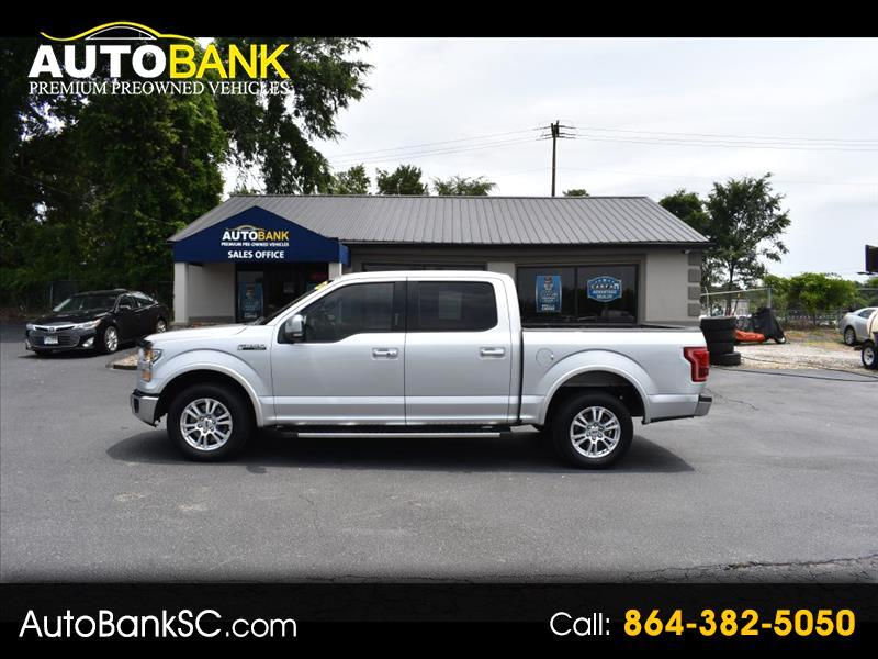 "Ford F-150 2WD SuperCrew 145"" Lariat 2015"