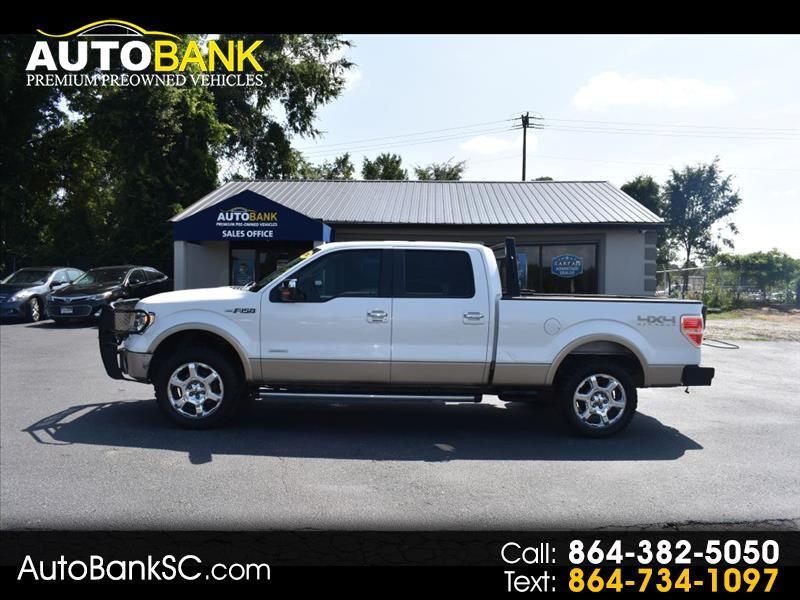 "2014 Ford F-150 4WD SuperCrew 139"" Lariat"