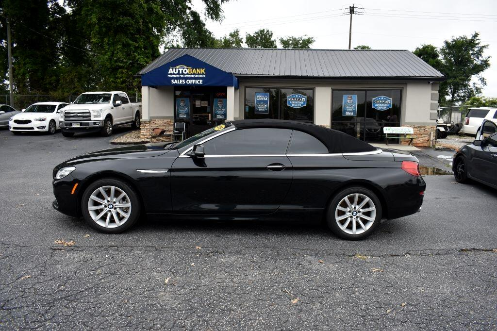 BMW 6-Series 640i Convertible 2016