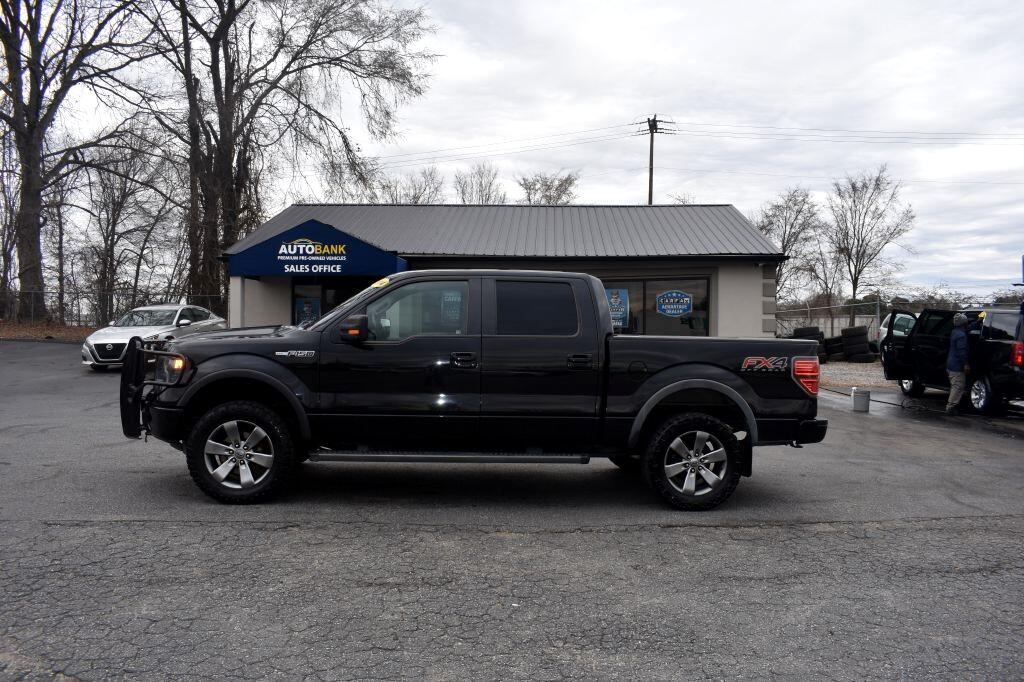 "Ford F-150 4WD SuperCrew 145"" FX4 2014"