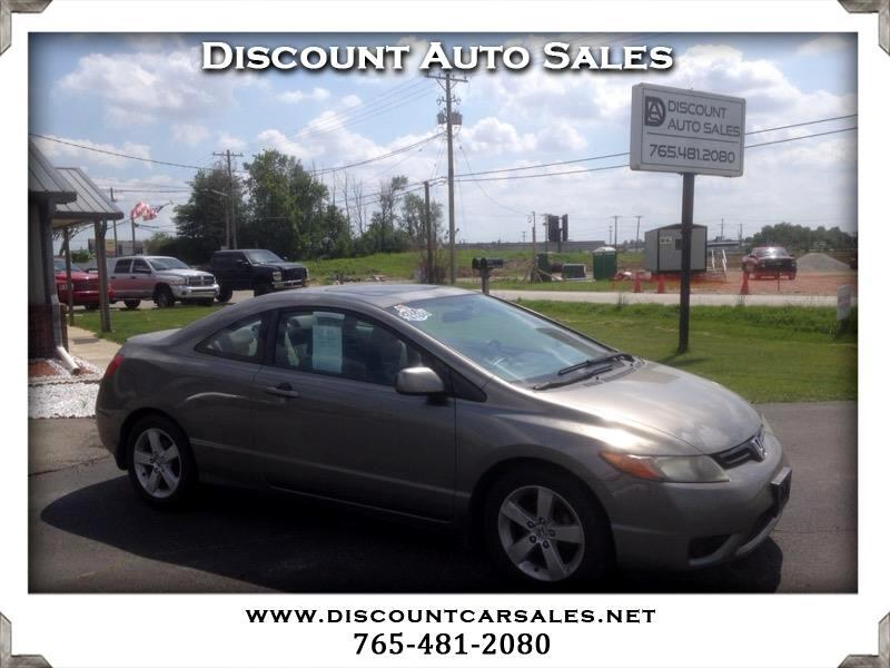 2008 Honda Civic EX COUPE  ** 1 OWNER CLEAN CARFAX !! **