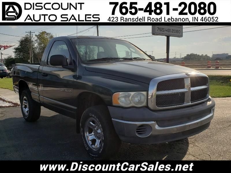 Dodge Ram 1500 ST Short Bed 4WD 2002