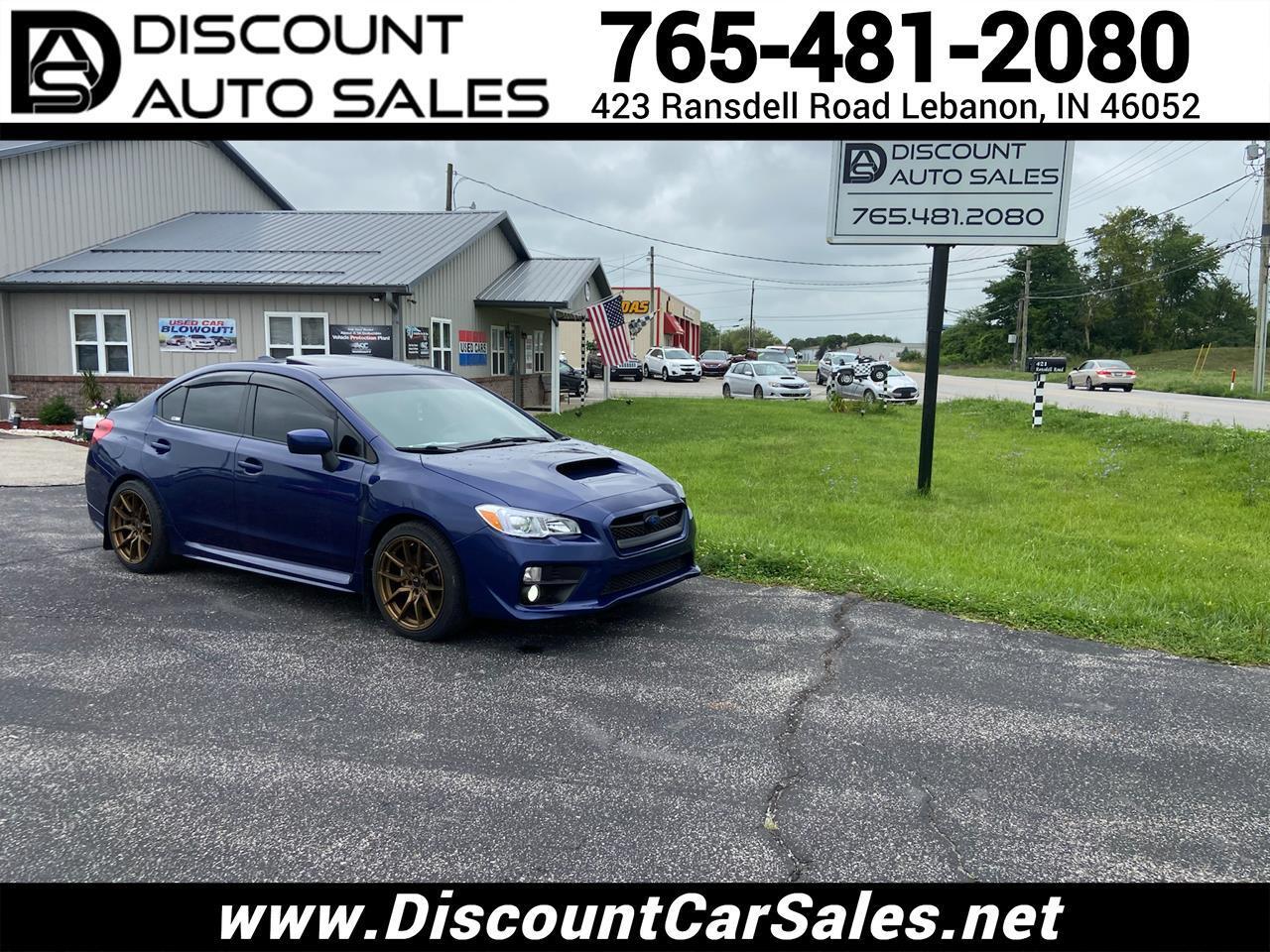 Subaru WRX Premium 6M 2016