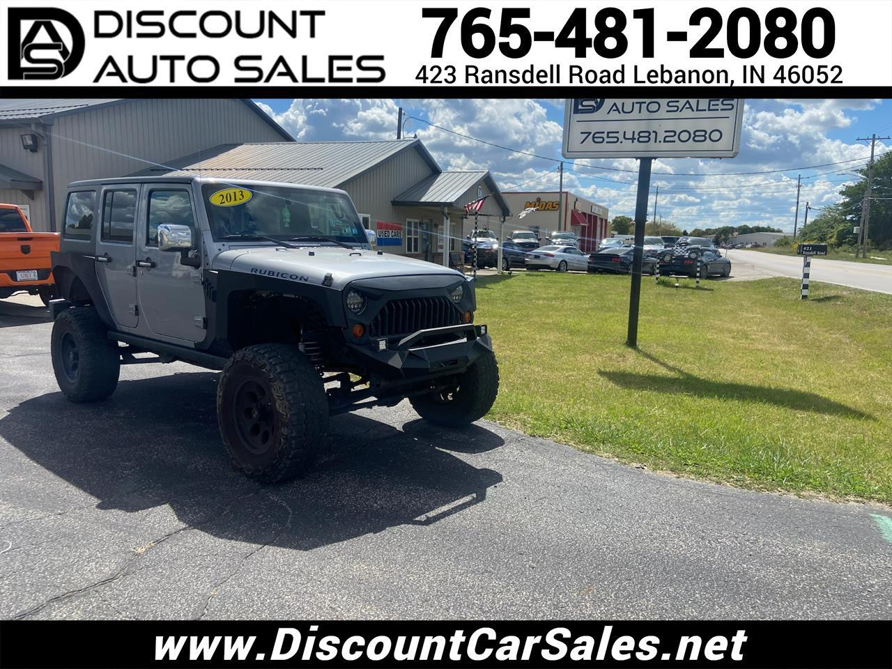 Jeep Wrangler Unlimited Rubicon 4WD 2013