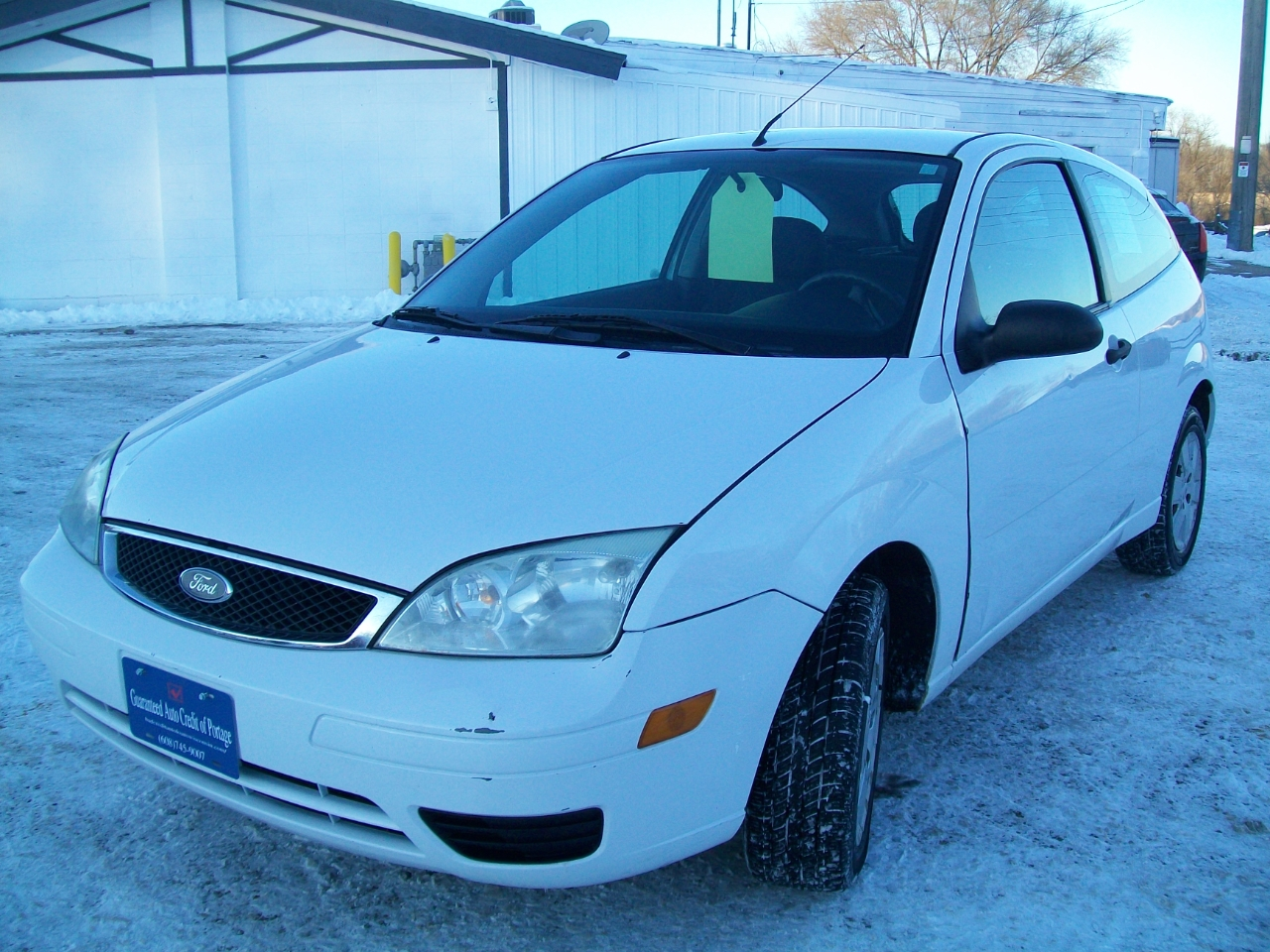 2007 Ford Focus 3dr Cpe S