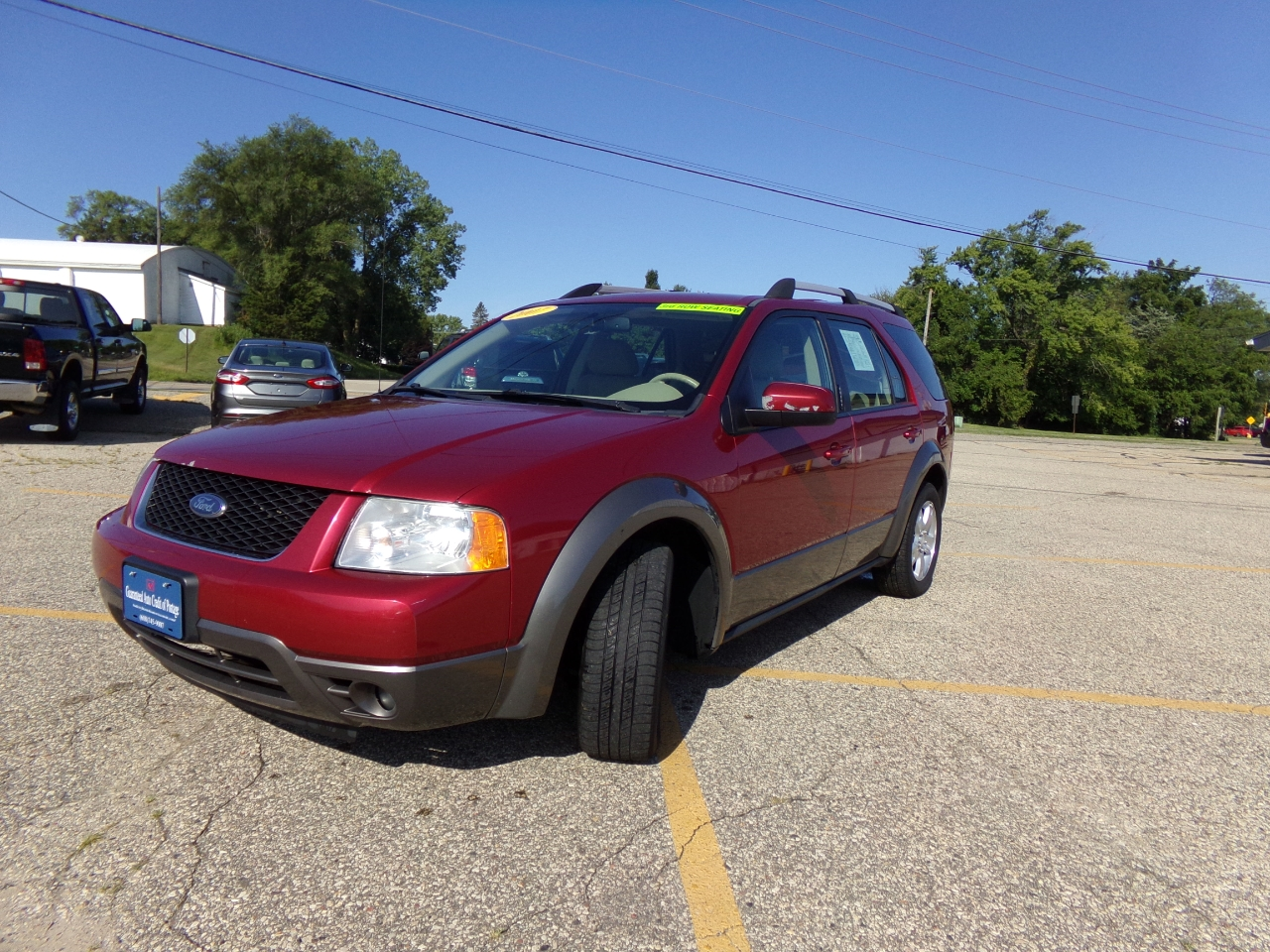 2007 Ford Freestyle 4dr Wgn SEL FWD