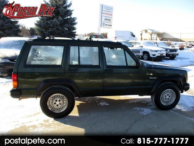 1996 Jeep Cherokee SE 4-Door 4WD