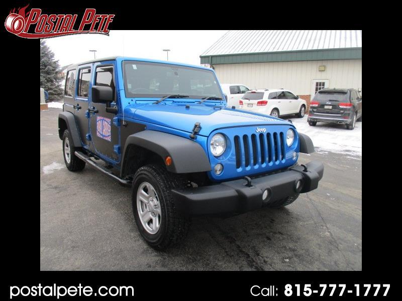 2016 Jeep Wrangler Unlimited Sport 4WD RHD