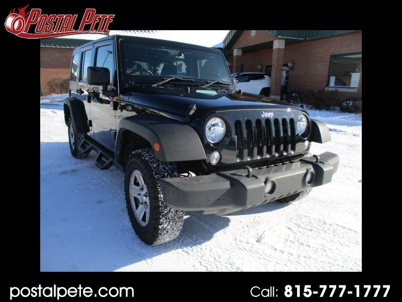 2017 Jeep Wrangler Unlimited Sport 4WD RHD