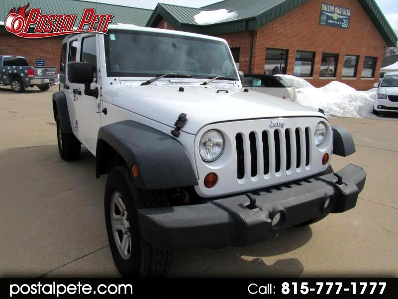 2012 Jeep Wrangler Unlimited Sport 4WD RHD