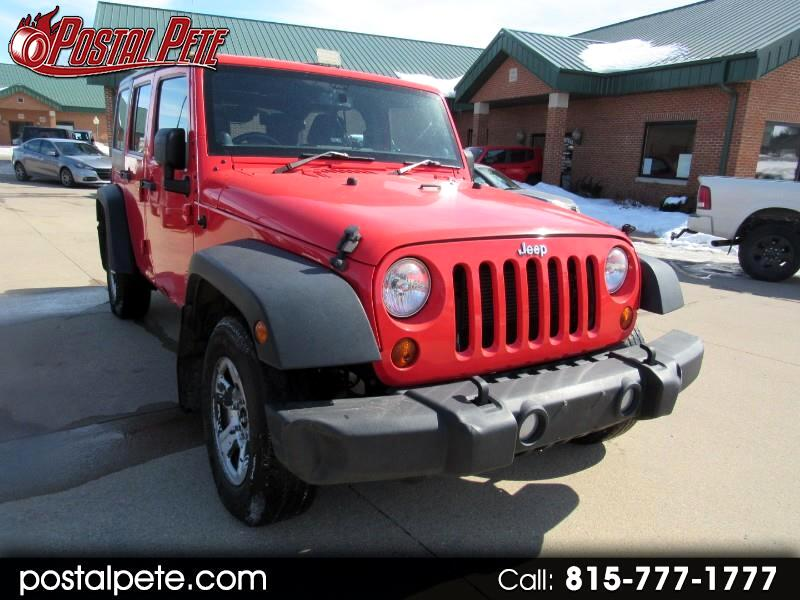 2013 Jeep Wrangler Unlimited Sport 4WD RHD