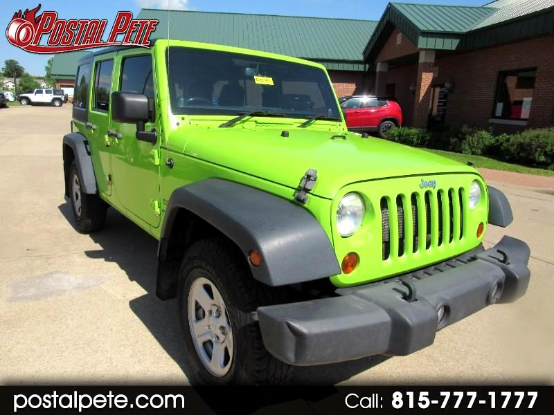 2013 Jeep Wrangler Unlimited Sport 4WD RHD