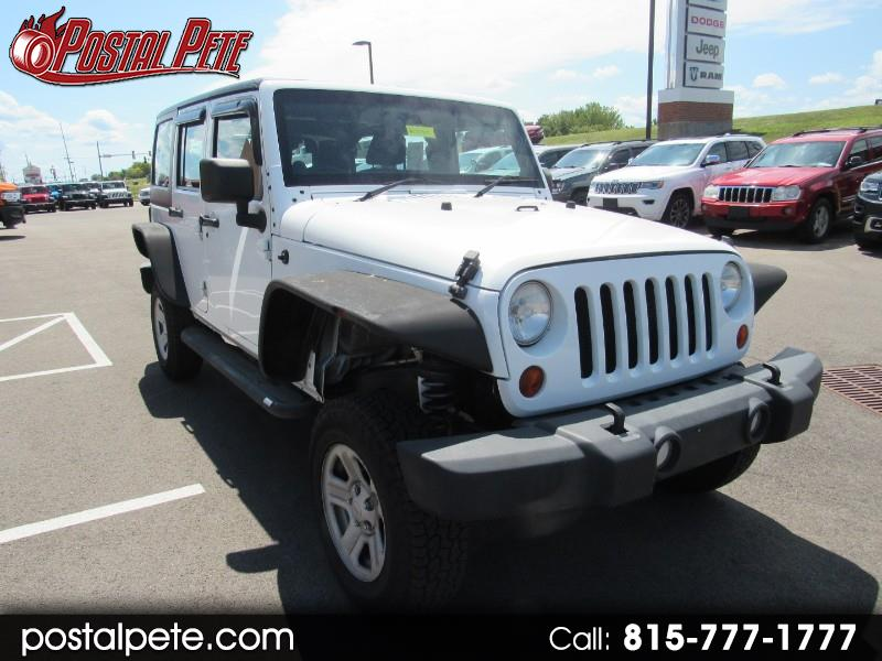Jeep Wrangler Unlimited Sport 4WD RHD 2013