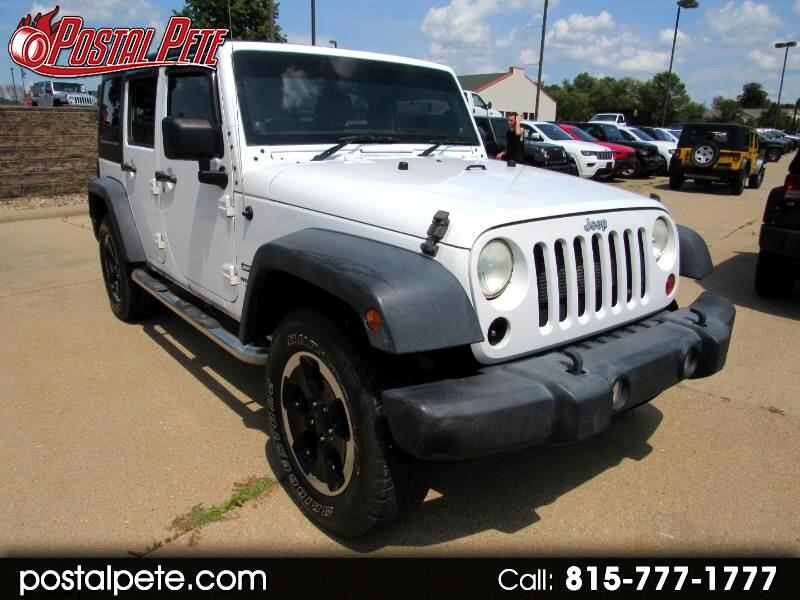 Jeep Wrangler Unlimited Sport 4WD RHD 2012